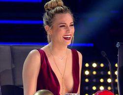 'Got Talent España': El escotazo de Edurne triunfa en la gala y enloquece a Santi Millán