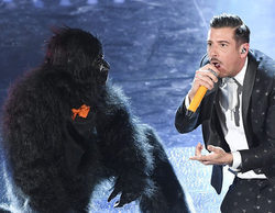 Eurovisión 2017: El bailarín Filippo Ranaldi se esconde bajo el disfraz del mono de Francesco Gabbani