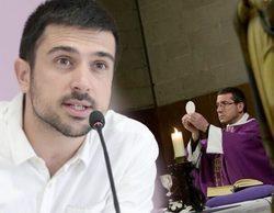 Ramón Espinar, senador de Podemos, dudoso ante la petición de retirar las misas de TVE