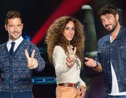 'La Voz Kids': Bisbal, Rosario y Antonio Orozco protagonizan una improvisada actuación en la segunda entrega