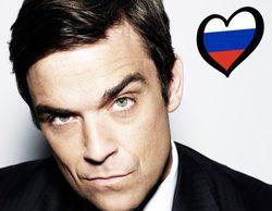 Eurovisión 2017: El cantante británico Robbie Williams quiere representar a Rusia en el Festival