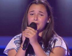 'La Voz Kids 3': Una concursante no puede terminar su actuación al ver que Antonio Orozco gira su silla