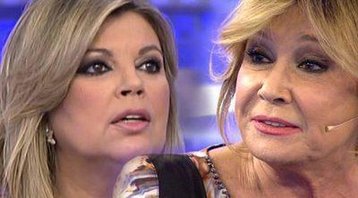 Terelu y Mila Ximénez ('Sálvame') se enzarzan por la relación entre Bigote Arrocet y María Teresa Campos