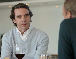 'Mi casa es la tuya': Aznar hunde la audiencia del programa de Bertín pero hace que las redes sociales ardan