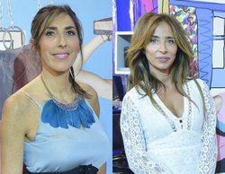 'Sálvame': Paz Padilla y María Patiño, muy revolucionadas con la visita de Marco Ferri ('GH VIP 5')