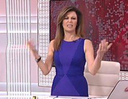 Beatriz Pérez-Aranda vuelve a protagonizar una divertida pillada en directo en el Canal 24 Horas