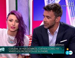 """Claudia Caparrós: """"Nunca he visto a mi padre meterse una raya o en mal estado"""""""