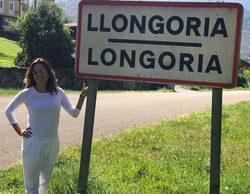 Eva Longoria descubre sus orígenes en España visitando el pueblo Longoria