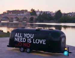 'All you need is love...o no': Irene Junquera ya recorre España con la caravana del programa