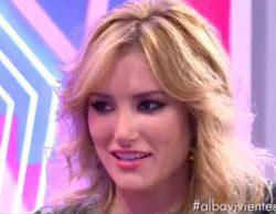 Alba Carrillo habla de Laura Matamoros y no descarta tener sexo en la isla de 'Supervivientes'