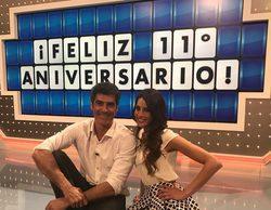 Jorge Fernández y la 'La ruleta de la suerte' cumplen 11 años en Antena 3 y lo celebran con un especial