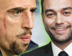"""Críticas y apoyos al comentarista de Antena 3 por referirse a Ribéry como """"Scarface"""""""