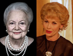'Feud': Olivia de Havilland, actriz interpretada por Catherine Zeta-Jones, confiesa que no ve la serie