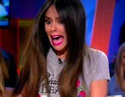 'Zapeando': Anna Simon le da un susto a Cristina Pedroche por debajo de la mesa