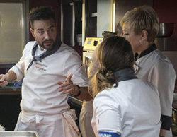 """Rakel y Montoro, entre gritos, se declaran la guerra en 'Top Chef': """"¡No me calientes más!"""""""
