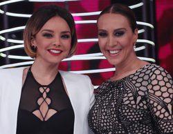 'Tu cara no me suena todavía': Mónica Naranjo y Chenoa se lanzan a imitar a Las Grecas en la sexta gala