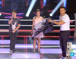 'La Voz Kids 3': Así fue la actuación de Dani, Celia y Alexandra que enloqueció a coaches y asesores