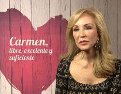 """Carmen Lomana se sincera en 'First Dates': """"Yo creo que no voy a salir más en la tele"""""""