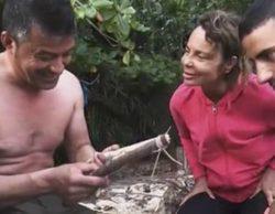 """Leticia Sabater ('Supervivientes') a José Luis mientras intenta hacer fuego: """"Como eches los polvos igual..."""""""