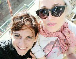 Así ha sido el reencuentro de Laura Pamplona y Malena Alterio, Alicia y Belén en 'Aquí no hay quién viva'
