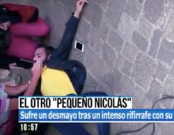 Santiago González, el nuevo pequeño Nicolás, sufre un desmayo tras una discusión en 'El Programa de AR'