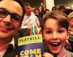 'The Big Bang Theory': Jim Parsons e Iain Armitage, los dos Sheldon Cooper, juntos en el teatro