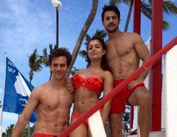 """Alejo Sauras, Hiba Abouk, Marc Clotet, """"vigilantes de la playa"""" españoles en la película """"Caribe Mix"""""""
