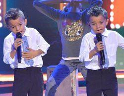 'La Voz Kids': Los gemelos Antonio y Paco saltan las lágrimas de Rosario con su emotiva despedida