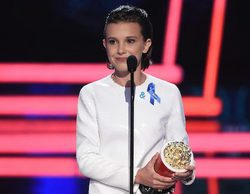 MTV Movie & TV Awards: Millie Bobby Brown ('Stranger Things') se emociona al recibir el premio a Mejor Actriz