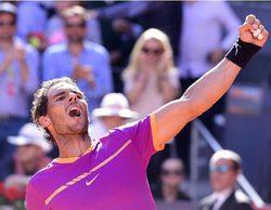 El partido de tenis entre Nadal y Djokovic (4,1%), en Teledeporte, lidera seguido de 'Big Bang' (3%) en Neox