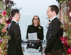 Jim Parsons ('The Big Bang Theory') se casa con su novio después de 14 años de relación