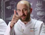 Nuevo resbalón en 'Top Chef': Marcano por los suelos antes de ser elegido como ayudante de la final