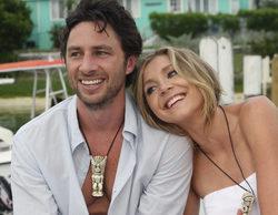 'Scrubs': Zach Braff y Sarah Chalke, los protagonistas de la serie, se reencuentran