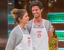 """Miri y Jorge, del """"amor"""" a la salvación de la eliminación en 'MasterChef': """"Tenemos buena conexión"""""""