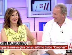 """Bertín Osborne se confiesa con Ana Rosa: """"Me da pereza ir a 'Supervivientes', prefiero a Jesús Calleja"""""""