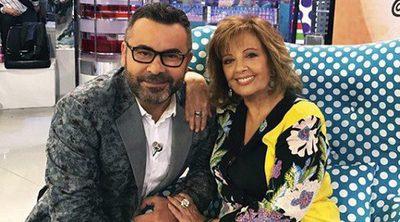"""Jorge Javier Vázquez ('Sálvame') ya ha visitado a Mª Teresa Campos en el hospital: """"La encuentro muy animada"""""""