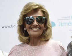 """María Teresa Campos, emocionada en su salida del hospital: """"Parece que no me ha pasado nada y ha sido mucho"""""""