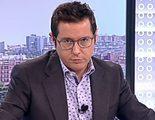 Sergio Martín, presentador de 'Los desayunos', se cree en directo un bulo de Internet sobre el PSOE