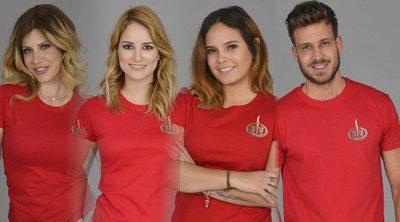 Paola, Alba, Gloria Camila y Alejandro, nuevos nominados de 'Supervivientes 2017'