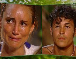 Alba Carrillo ('Supervivientes') se derrumba al escuchar los comentarios machistas de Kiko Jiménez