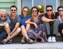 'Velvet colección': Marta Hazas comparte la primera foto de los seis protagonistas juntos