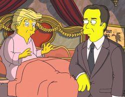 Trump, Nixon y el exdirector del FBI protagonizan la última crítica política de 'Los Simpson'