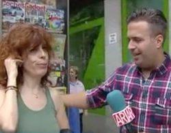'El programa de Ana Rosa': Agreden con un ladrillo a un reportero durante un reportaje en el barrio de Tetuán