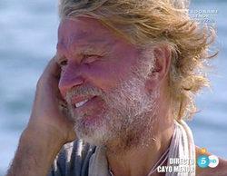 Edmundo Arrocet ('Supervivientes') charla con su hermana Pety tras el robo del pañuelo