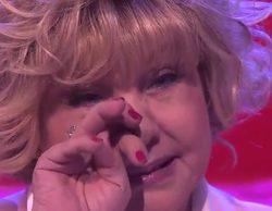 """'Fantastic Duo': Karina se emociona al ver a su hija bailar """"El baúl de los recuerdos"""" en el programa"""