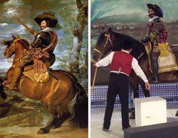 'Sálvame': Jorge Javier Vázquez se transforma en el Conde-Duque de Olivares del cuadro de Velázquez