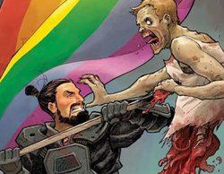 'The Walking Dead' se une al apoyo a la causa LGTB con su nueva portada de cómic