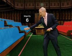BBC convierte el pactómetro de Ferreras en una espectacular recreación en 3D para las elecciones británicas