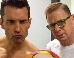 Jesus Vázquez y Jorge Cadaval se fotografían por los derechos LGBT con la imagen que los rusos no pueden usar