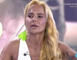 """'Sálvame': Belén Esteban crítica a Leticia Sabater por José Luis y le dice que es """"una fresca"""""""